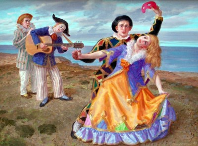 DANCE WITH HARLEQUIN