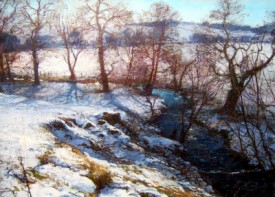 A WINTER LANDSCAPE NEAR CORTACHY