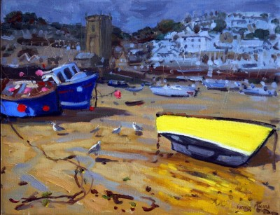 YELLOW BOAT, ST IVES