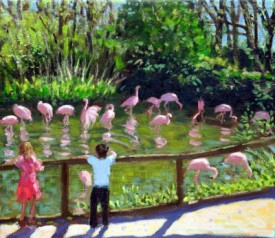 FLAMINGOS, TWYCROOS ZOO