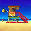 8TH STREET LIFEGUARD HUT SOUTH BEACH FLORIDA