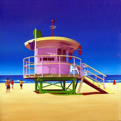 10TH STREET LIFEGUARD HUT SOUTH BEACH FLORIDA