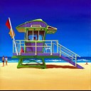 12TH STREET LIFEGUARD HUT SOUTH BEACH FLORIDA