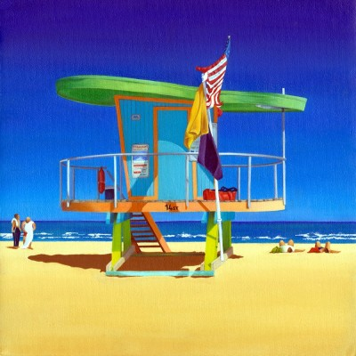 14TH STREET LIFEGUARD HUT SOUTH BEACH FLORIDA