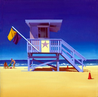 17TH STREET LIFEGUARD HUT SOUTH BEACH FLORIDA