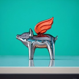 CHROME FLYING PIG